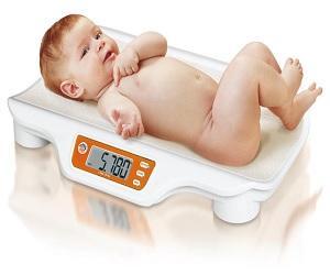 Вес малыша пять килограммов