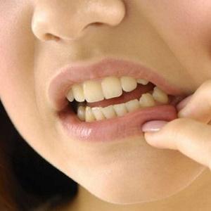 Открытый рот