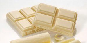 Белый шоколад для кормящей мамы