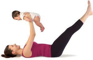 Физическая активность после кесарева сечения