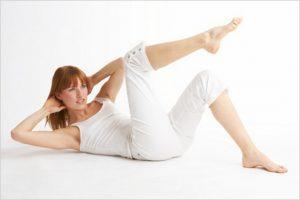 Упражнения в первые дни после кесарева сечения