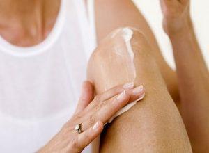 Лечение отечности ног мазями