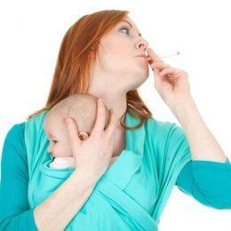 Материнское курение при грудном вскармливании