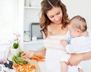 Питание мамы для увеличения лактации