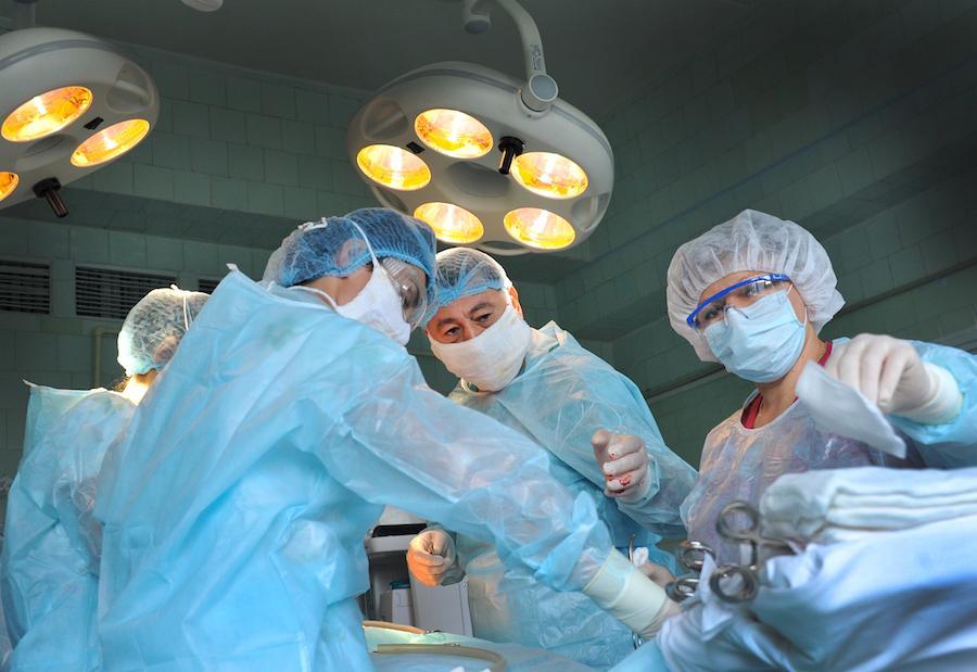 Операция по прерыванию беременности