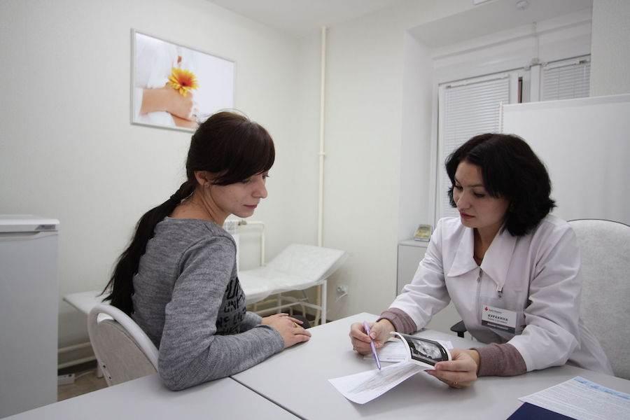 Консультация у врача гинеколога