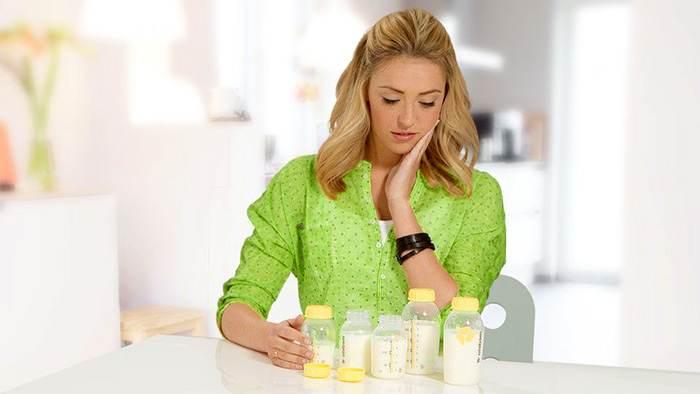 Уменьшение количества грудного молока