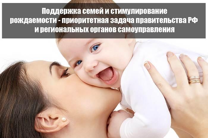 Поддержка и материальное стимулирование рождаемости в регионах