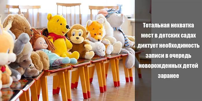 Вопросы очередности при оформлении ребенка в детский сад